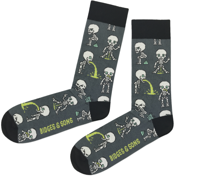 bidges-and-sons__Socken_nasty-skeletons_grey-black_isolated_product_2348_4544