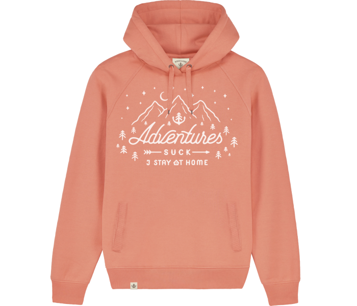 bidges-and-sons__sweatshirt-hooded_adventures-suck_coral_isolated_product_2228_4457