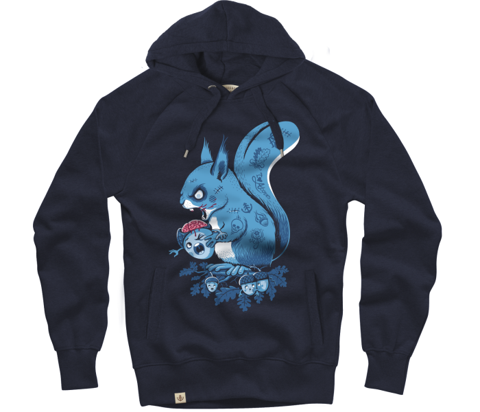 bidges-and-sons__sweatshirt-hooded_zombie-squirrel_navy_isolated_product_2147_4354