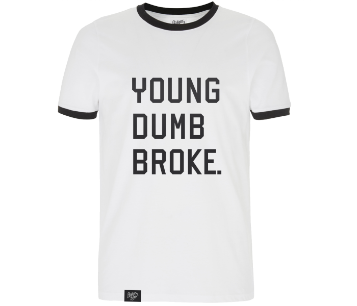 bidges-and-sons__t-shirt_young-dumb-broke_white_isolated_product_1841_4139
