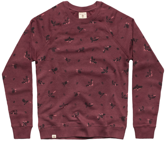 bidges-and-sons_gents_sweater-unisex_firebirds_burgundy-heather_isolated_product_1362_3826