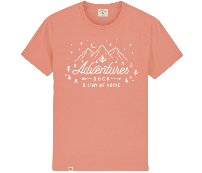 bidges-and-sons_gents_t-shirt_adventures-suck_coral_isolated_product_2226_4452