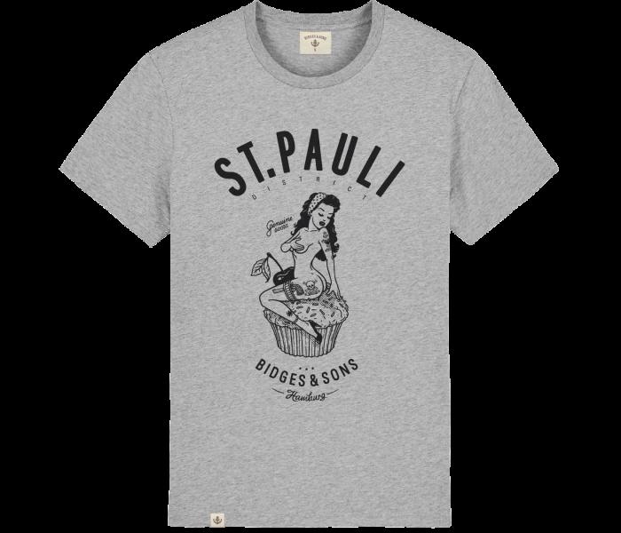 bidges-and-sons_gents_t-shirt_st-pauli-pin-up_heathergrey_isolated_product_1142_4518