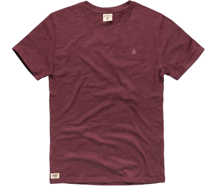 bidges-and-sons_gents_t-shirt_tanker-basic_burgundy-heather_isolated_product_1366_3834