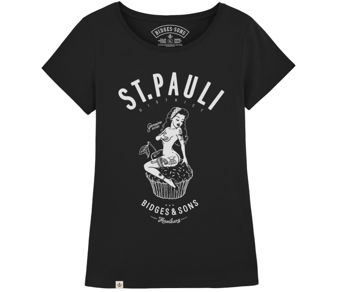 bidges-and-sons_ladies_low-cut-t-shirt_st-pauli-pin-up_black_isolated_product_2002_4640