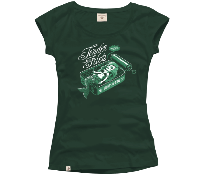 bidges-and-sons_ladies_low-cut-t-shirt_tender-filets_dark-green_isolated_product_1429_3992