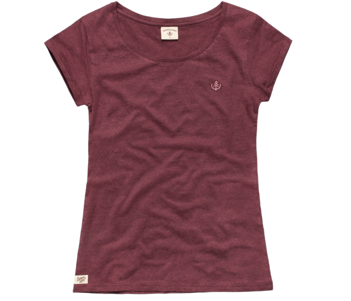 bidges-and-sons_ladies_t-shirt_tanker-basic_burgundy-heather_isolated_product_1367_3835