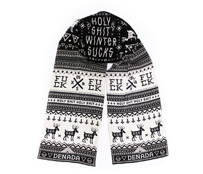 denada_girls_scarf_winter-sucks_black-white_isolated_product_1113_3567